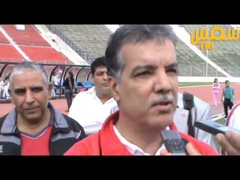 image vidéo وزير الرياضة يشارك في المباراة بين فريق الحكومة وفريق الإعلام