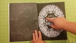The #teacherlife a snarky coloring book review flip through