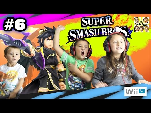 Lexi fights Dark Pit! Super Smash Bros Wii U Battle w/ MIKE: Part 6 (F...