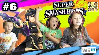 Lexi fights Dark Pit! Super Smash Bros Wii U Battle w/ MIKE: Part 6 (Face Cam Foe Challenge)