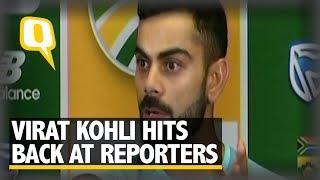 I Won't Accept Praise: Kohli Blasts Reporters After ODI Series Win | The Quint