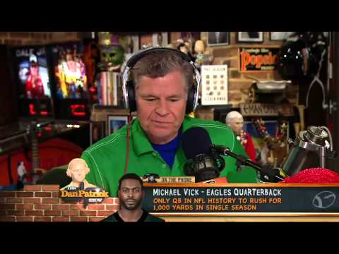 Michael Vick on The Dan Patrick Show 5/24/13