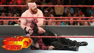 Sheamus & Cesaro vs. The Hardy Boyz - WWE Iron Man Tag Team Match: WWE Great Balls of Fire 2017