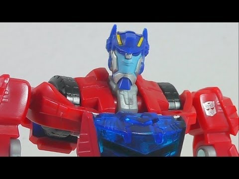 TRANSFORMERS ANIMATED CYBERTRON OPTIMUS PRIME EN ESPAÑOL