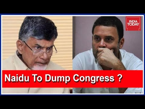 Chandrababu To Ditch Congress In Andhra Ahead Of 2019 Polls ? | 5ive Live