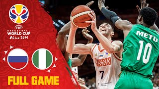 Russia v Nigeria was a battle until the final buzzer - Full Game - FIBA Basketball World Cup 2019