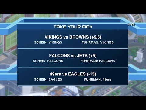 Time to Schein: Week 8 NFL picks