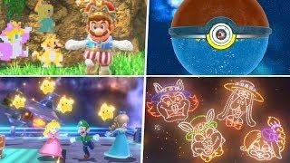 Evolution of Super Mario 3D Easter Eggs (1996 - 2019)