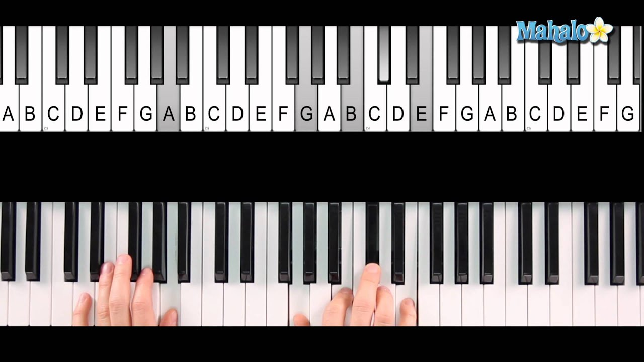 how to play x files on piano