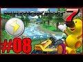Mario Kart 7 Lightning Cup 150cc 3DS Download Play Coop VS Wiggler Part 8 - DarkLightBros