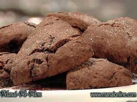 سكونز بالشوكولاتة - منال العالم