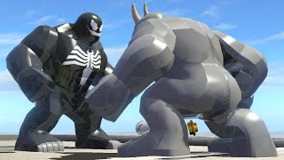 LEGO VENOM VS RHINO (Battle) - LEGO Marvel Super heroes