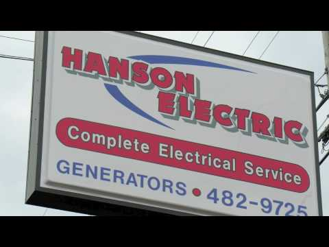 Hanson Electric in Houghton Michigan copper country upper peninsula