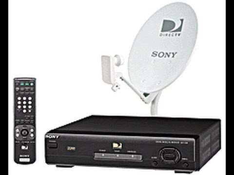 Sony DSS Satellite TV Installation Video Guide 90s VHS USSB Retro