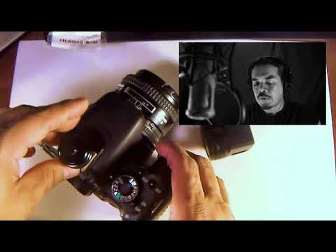 How to mount Yi 4k action cam on Canon DSLR