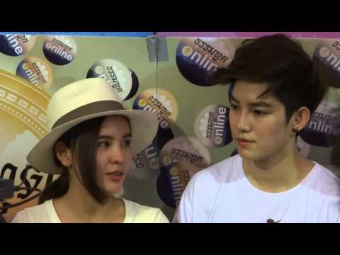 [Behind the scene] Aom & Tina Interview @Namaste: Ja-ae Bye-bye Premier