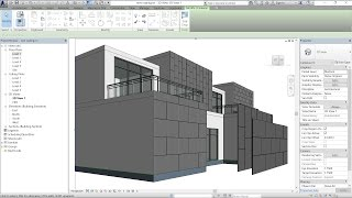 Download subscribers questions and the answers 04 - Revit aluminum cladding واجهات الالومنيوم بالريفيت 3Gp Mp4