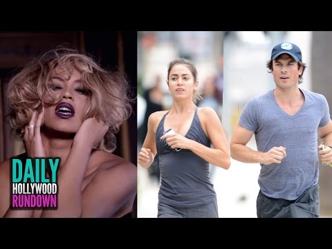 Beyonce's 'Fifty Shades Of Grey' VIDEO! Ian Somerhalder & Nikki Reed Hooking UP? (DHR)