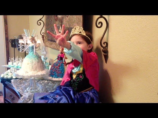 Bella's Frozen Birthday Party