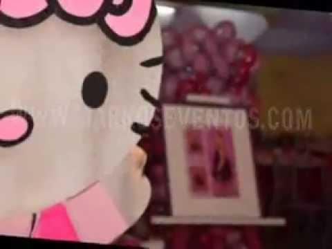 Fiesta Tematica Infantil HELLO KITTY   - MARKOS EVENTOS