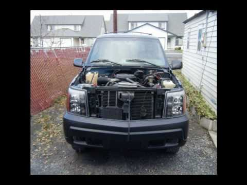 95 Chevy Tahoe Conversion To 04 Cadillac Escalade 2 Youtube