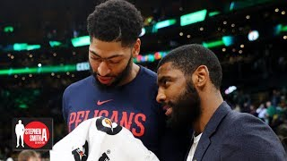 Kyrie Irving might be more 'box office' for the Lakers than Anthony Davis | Stephen A. Smith Show