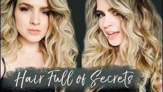 From Flat to BIG Hair (How to get voluminous Disco Curls!)