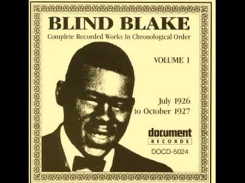 Hard Road Blues (Blind Blake, October 1927) [Remastered]