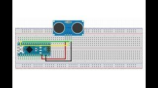 32Arduino ile Ultrasonik Sensr HCSR04 Kullanm