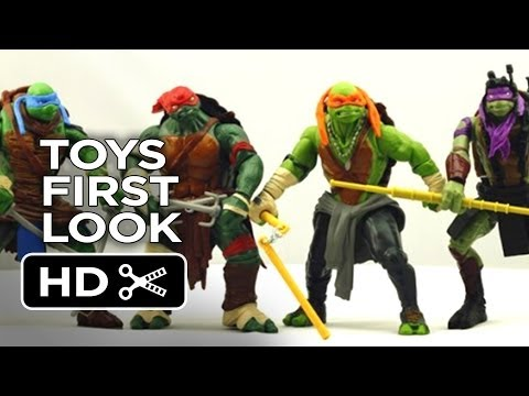 Teenage Mutant Ninja Turtles - Toys First Look (2014) - Michael Bay Movie HD