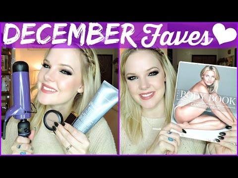 DECEMBER FAVES - Bumble and Bumble, Hot Tools, MAC, Tom Ford, Chanel - 동영상