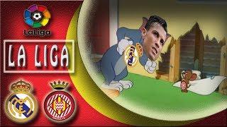 Real Madrid VS Girona : 6-3 🤗 The full story parody 😍 La Liga 20/03/2018 HD