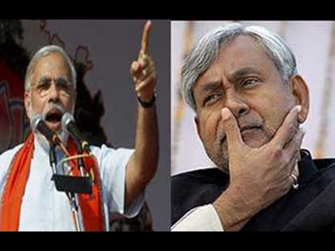 Narendra Modi's Tight Slap to Nitish Kumar   A Must Watch !