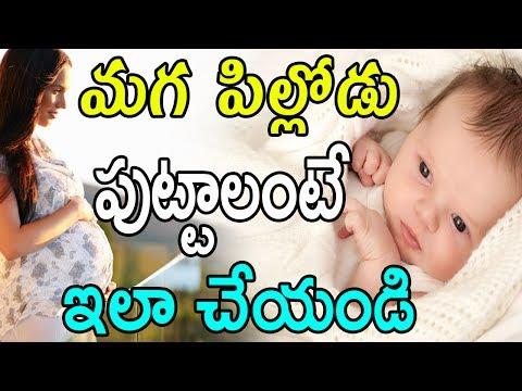 మగ పిల్లోడు పుట్టాలంటే ఇలా చేయండి |  Tips To Conceive A Baby Boy | GARAM CHAI thumbnail