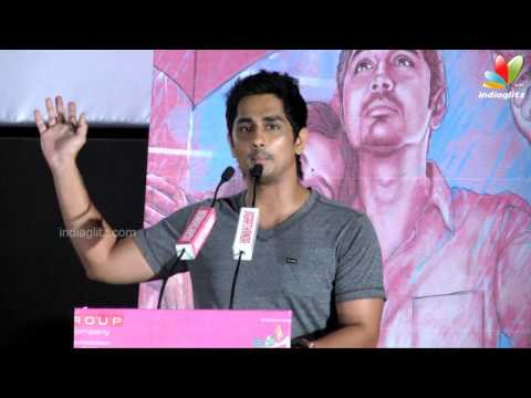 Siddharth : I came to cinema because of Bharathiraja | jigarthanda audio launch | Karthik Subbaraj