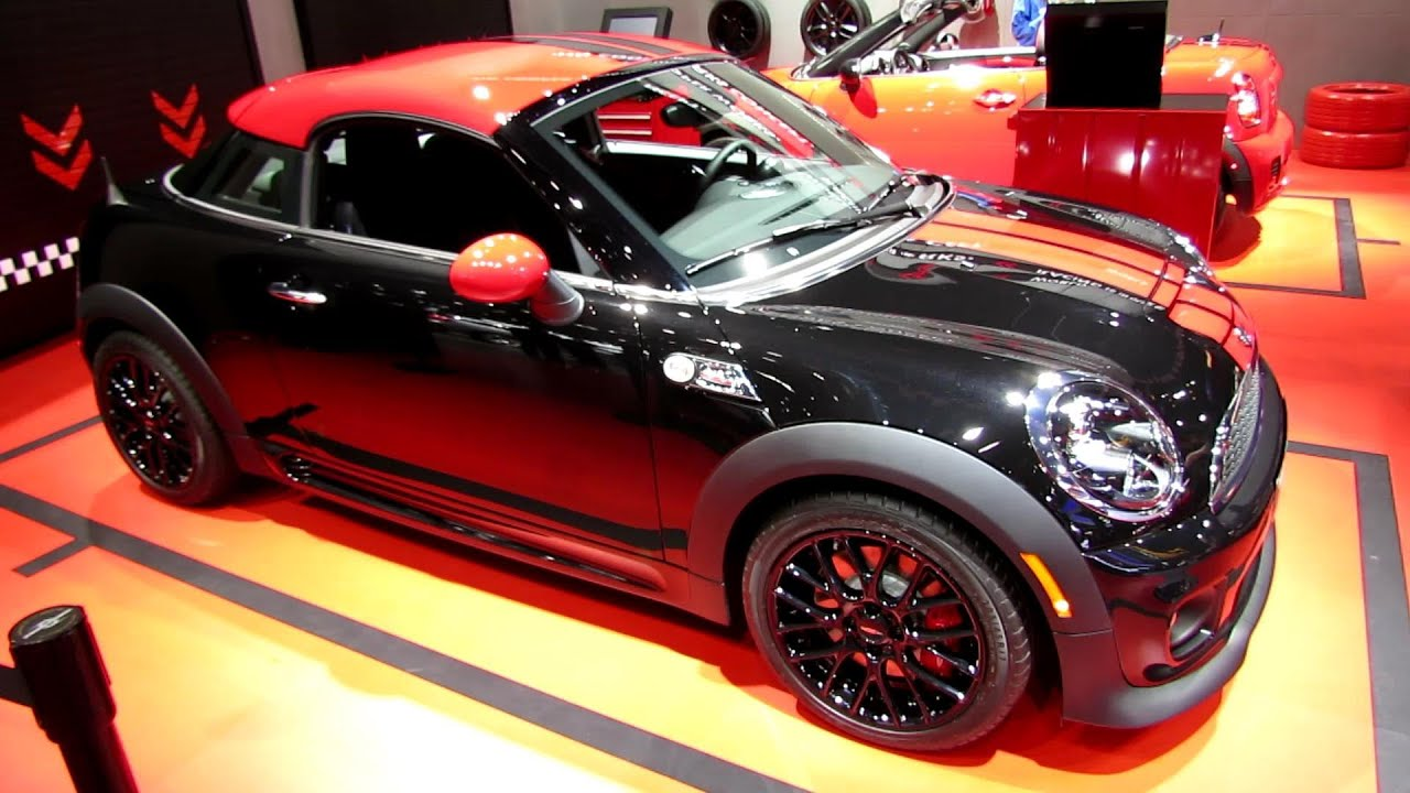 2014 Mini John Cooper Works Coupe Exterior And Interior