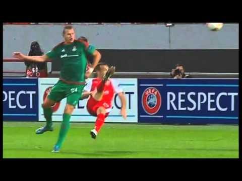 Lokomotiv Moscow vs Skenderbeu 2:0 All Goals Match Review 01.10.2015