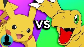 Pokémon VS. Digimon - Which Anime Series Do YOU Like More?! (Tooned Up S3 E31)
