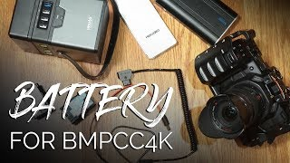 Battery Solutions for BMPCC4K