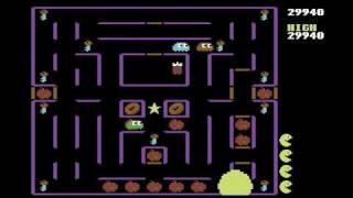 Super Pac-Man -- Commodore 64