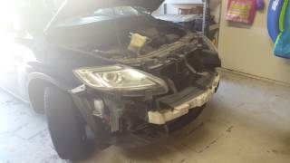 Mazda Cx9 SDX hid xenon light  install to replace bad ballast.