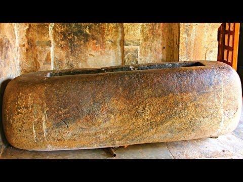 Tamil King Raja Raja Chola's Bathtub Discovered - Thanjavur, India video