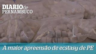 Maior apreens�o de ecstasy da hist�ria de Pernambuco