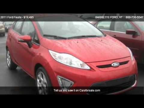 2011 Ford Fiesta SES - for sale in SWANTON, VT 05488