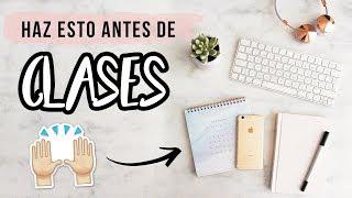 5 COSAS QUE TIENES QUE HACER ANTES DEL REGRESO A CLASES: TIPS Y TRUCOS PARA LA ESCUELA 2019
