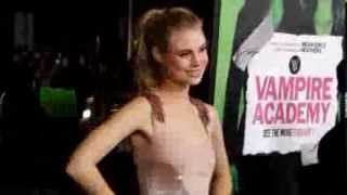 Vampire Academy Premiere with, Sarah Hyland,Zoey Deutch & Lucy Fry (More at Galatview com)