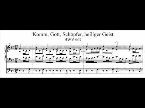 Бах Иоганн Себастьян - Komm, Gott Schöpfer