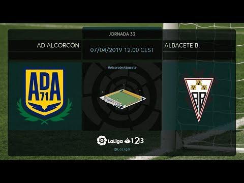 AD Alcorcón - Albacete BP MD33 D1200