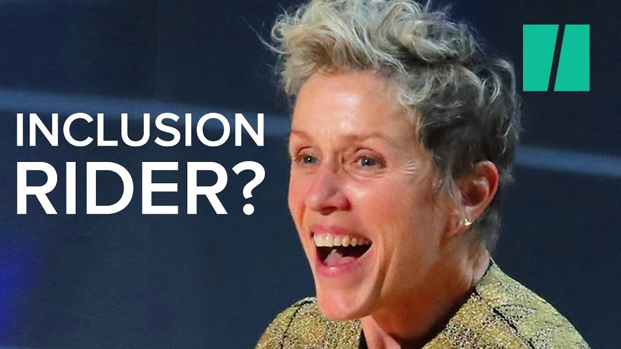 Frances McDormand Explains Inclusion Riders To Hollywood