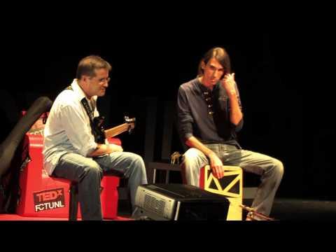 Percurso da vida através da música: Beto Betuk Armindo Neves at TEDxFCTUNL 2013